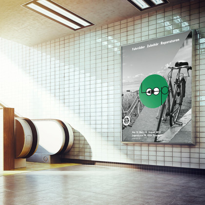 MINI CORPORATE DESIGN |  Pop-Up Store Loop