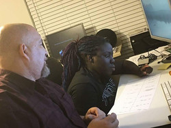 Del and Jameka learning FCP