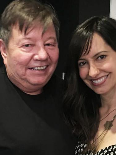 Harold L. Brown with Charlene Amoia