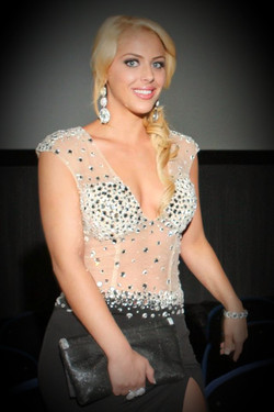Actress Jillisa Lynn Black Tie Dinner and Award Show at AOF Festival