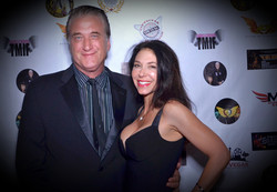 Mr. and Mrs. Daniel Baldwin at Action On Film Festival