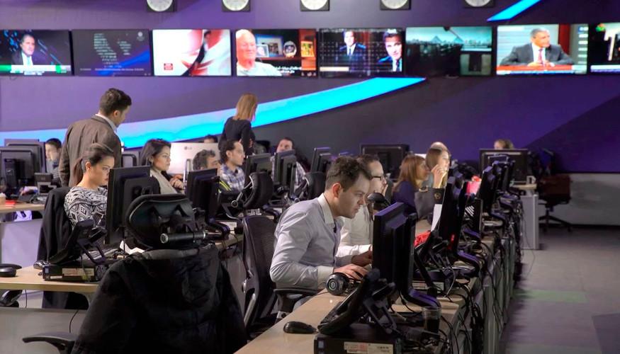 Journalist At Work