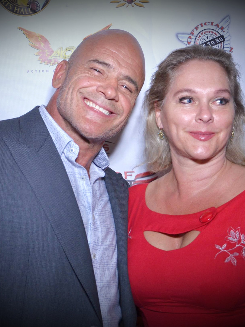 Mr and Mrs Bas Rutten