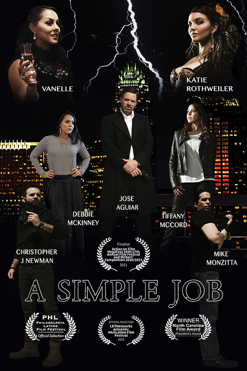 A SIMPLE JOB TUES. 7.27.21 11AM BLOCK