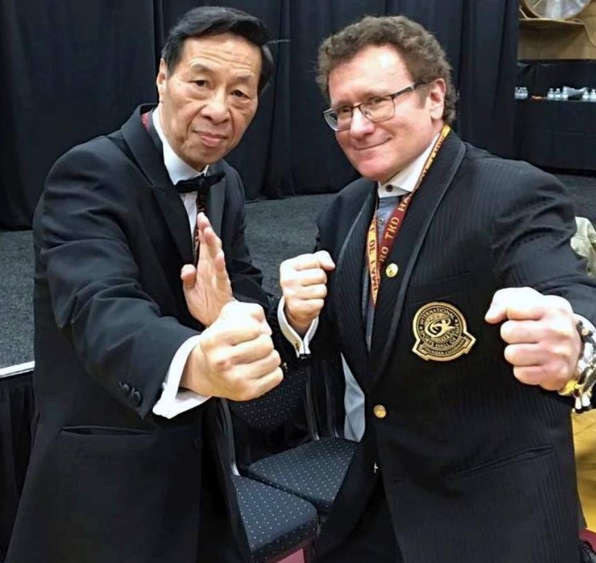 Robert Goldman & Master Samuel Kwok