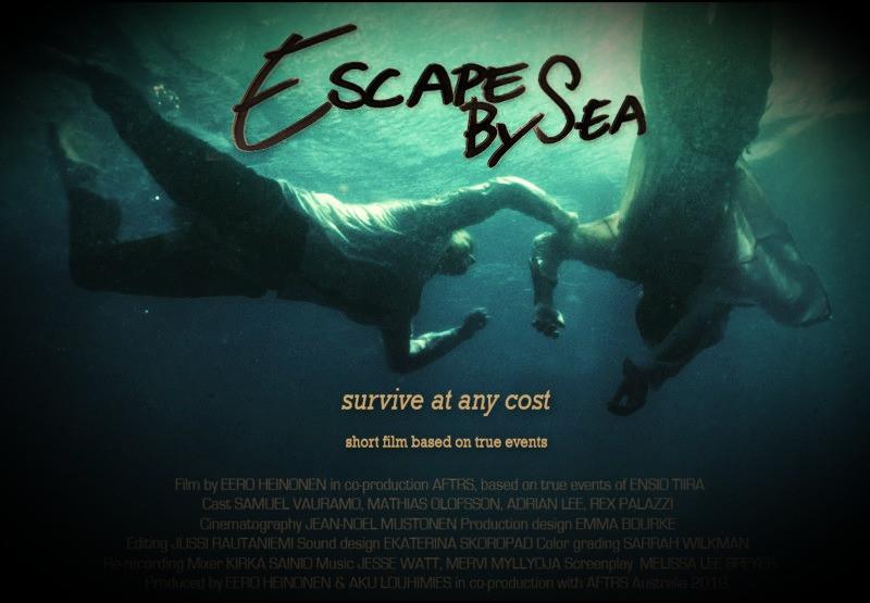 Escape By Sea Poster