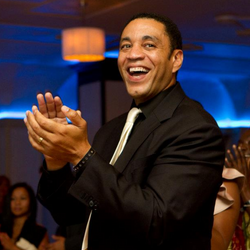 Harry Lennix At AOF