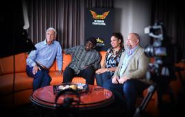 Mark Giardino, Bill Duke, Thada Catalon and Del Weston At the Action On Film Festival