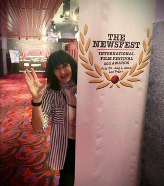 Laurel Adler at The Newsfest Las Vegas