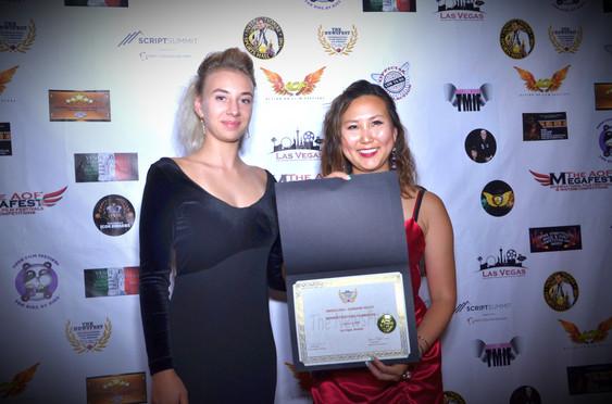 Anastasia Gukovskya and Newsfest Winner