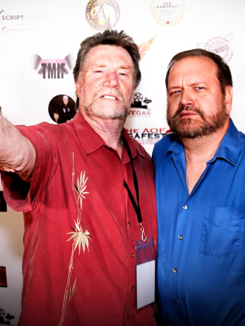 Tom Konkle and Vernon Wells