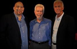 Del Weston, John Gilbert and Mark Giardino