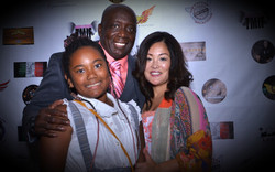 Billy Blanks and Family at AOF