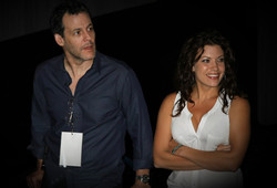 Tiffany Shepis and Robert Pralgo at AOF Festival