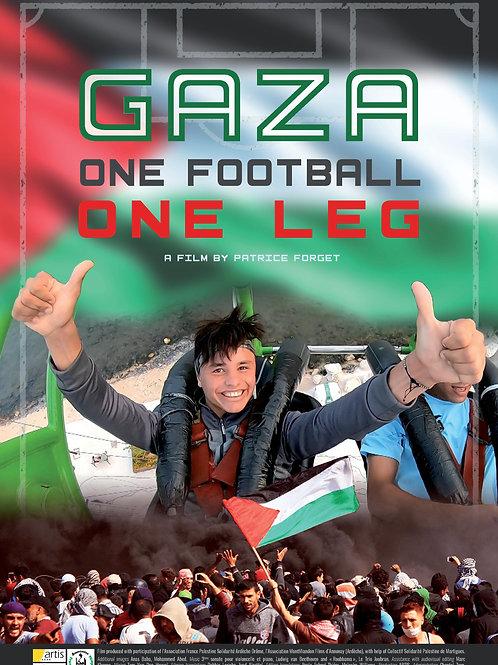 GAZA- ONE FOOTBALL, ONE LEG TU. 7.27.21 2:30PM BLOCK