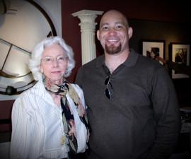 Maude Ann Taylor and Del Weston