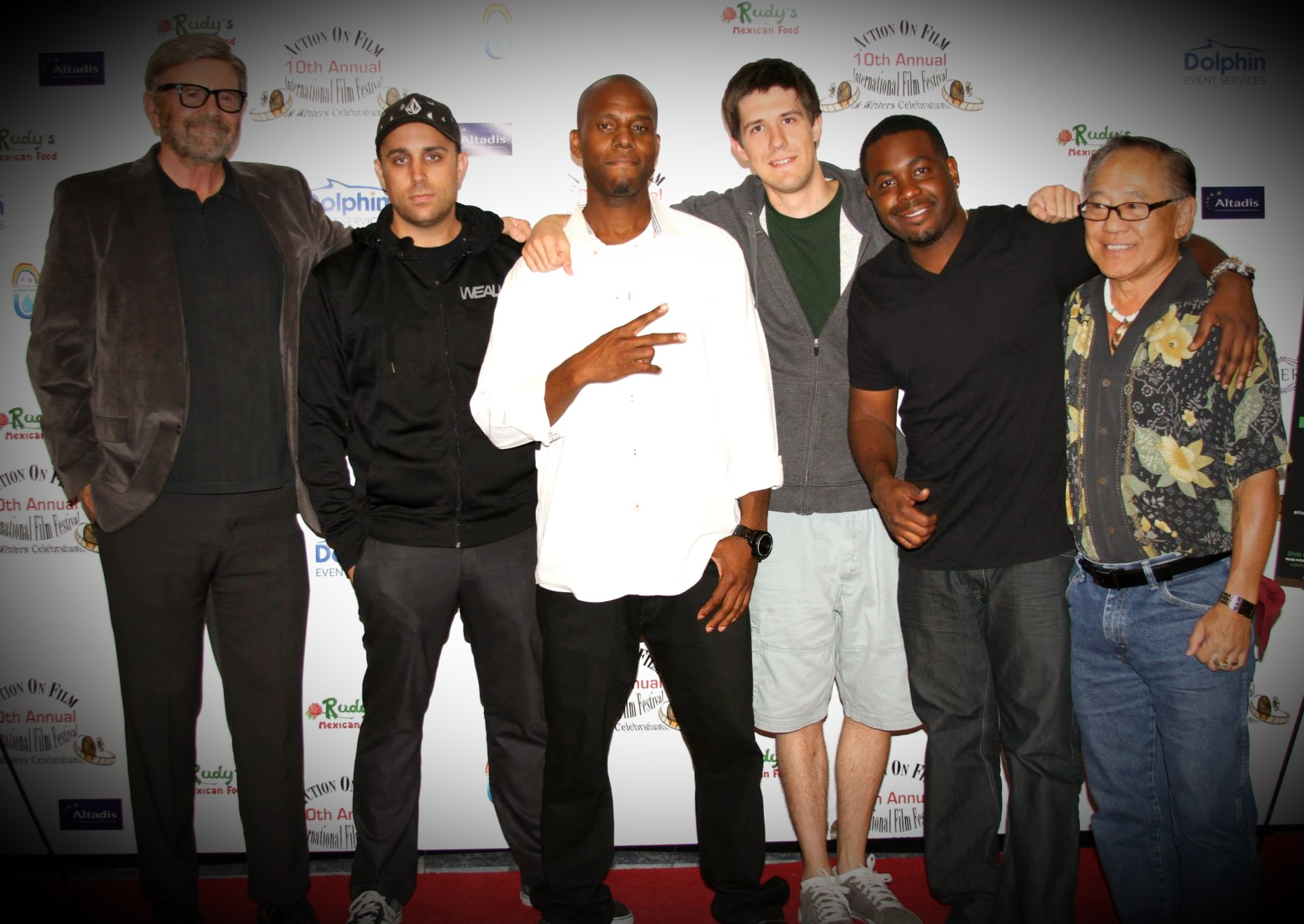 Filmmakers and legends at AOF Festival