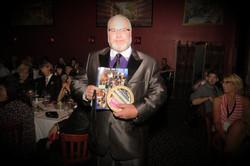 Roger Winning Runner Up Award at AOF Festival