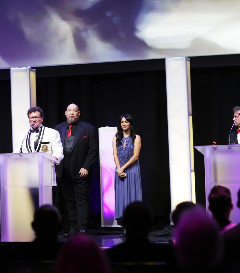 Samuel Kwok at the AOF Icon Awards