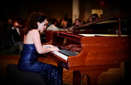 Legendary Concert Pianist Yana Reznick at AOF Megafest