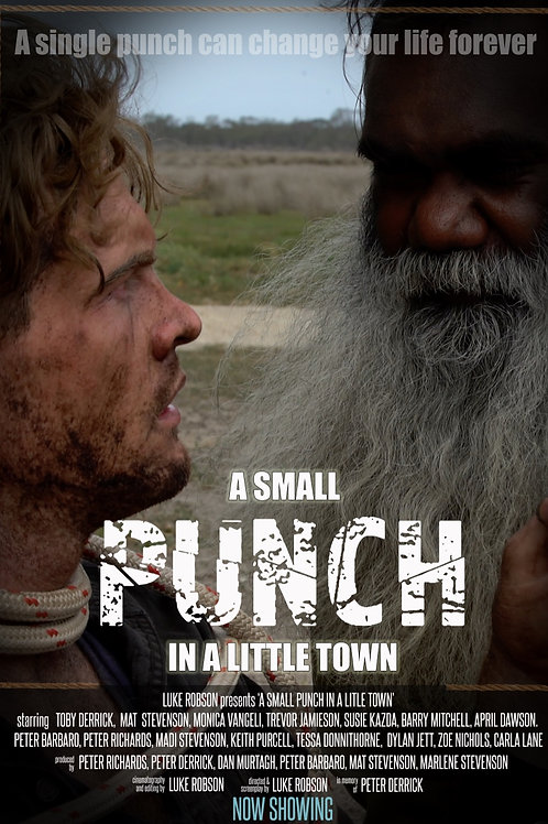 A SMALL PUNCH IN A LITTLE TOWN WED. 7.28.21 7:30PM BLOCK