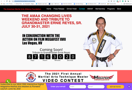 AOF 1st Annual Martial Arts Technique Championships