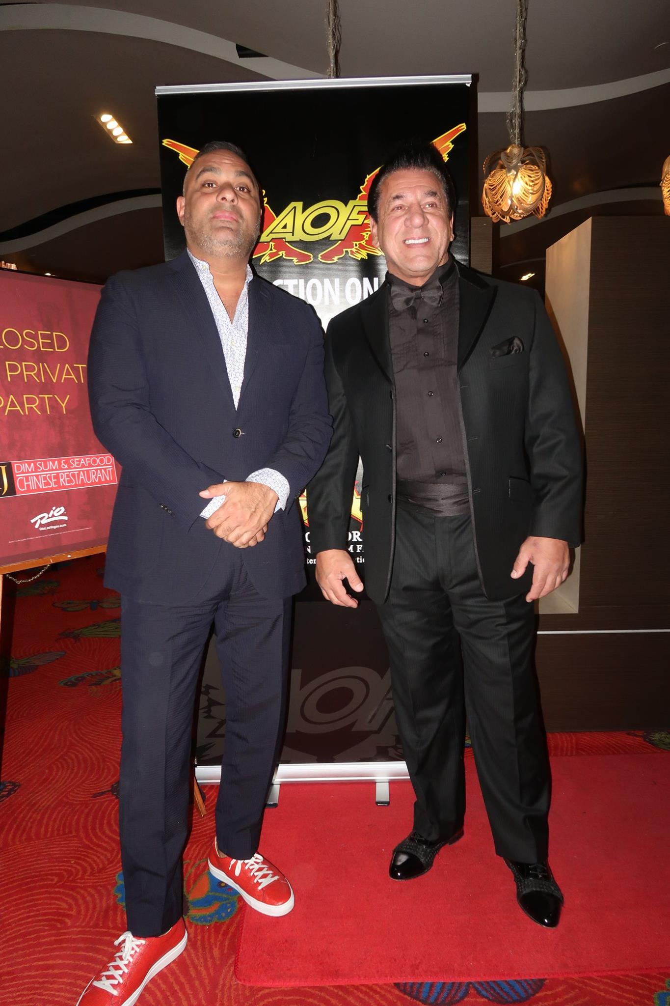 Russell Peters and Chuck Zito