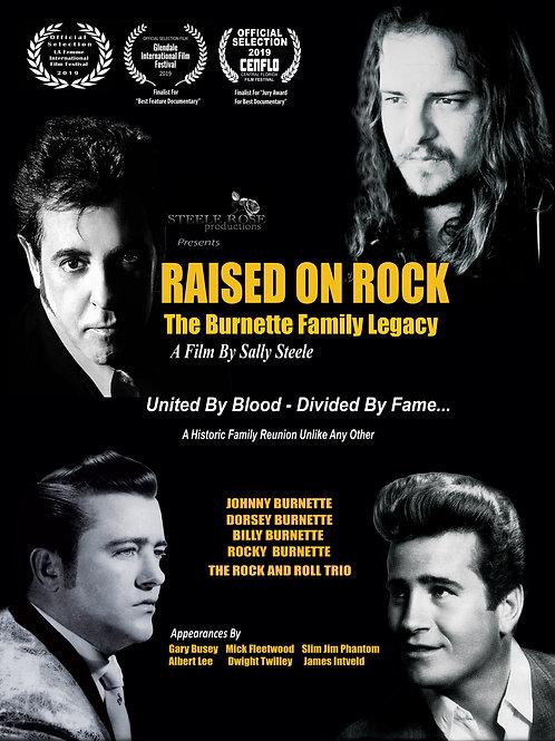 RAISED ON ROCK- THE BURNETTE FAMILY LEGACY 7.28.21 7:30PM BLOCK