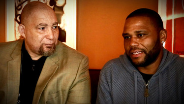 Del Weston with Anthony Anderson