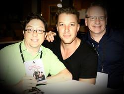 Charles, Steven and Luke at AOF Megafest