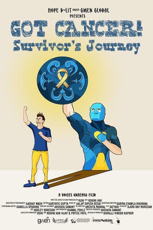 GOT CANCER-SURVIVOR'S JOURNEY THURS. 7.29.21 11AM BLOCK