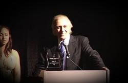 David Carradine LifeTime Achievement Award Winner At AOF 2005