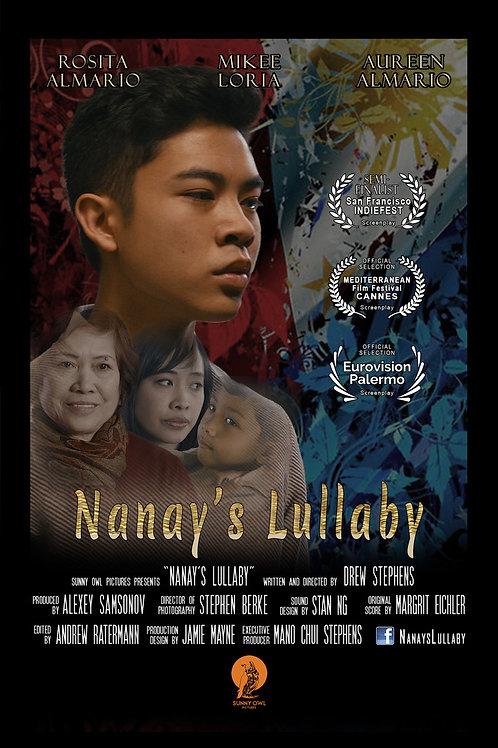 NANAY'S LULLABY TH. 7.29.21 3PM BLOCK