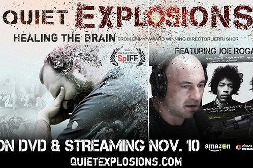 QUIET EXPLOSIONS: Healing The Brain TH. 7.29.21 3PM BLOCK