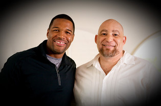 Mchael Strahan and Del Weston