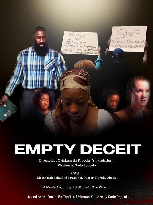 EMPTY DECEIT THURS. 7.29.21 8:30 PM BLOCK