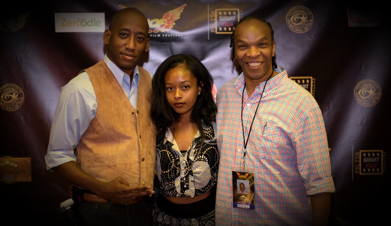 Toure, Kenya and Friend at AOF