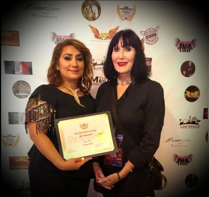 Laurel Adler and Award Winner