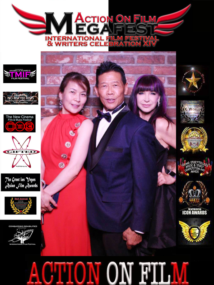 Harry Mok Cynthia Rothrock and Guest
