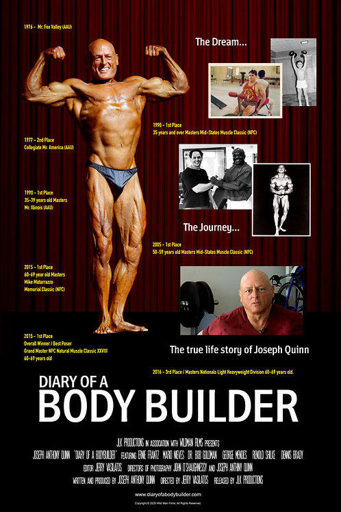 DIARY OF A BODYBUILDER WED. 70.28.21 5PM BLOCK