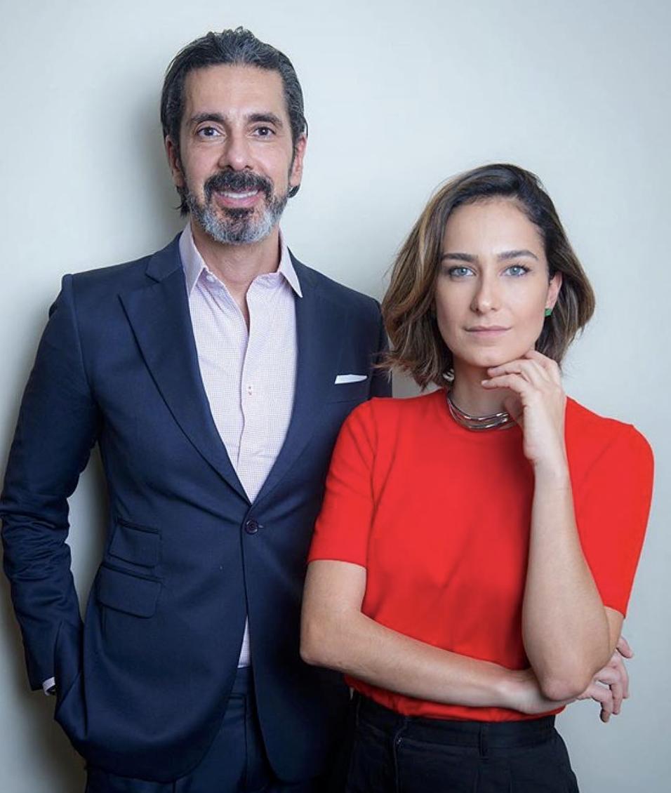 Denise Tavares e Alexandre Taleb