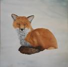 Wee Foxy      36x36 oil.jpg