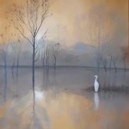 Morning Egret