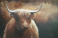 Broon Coo Acrylic 24x6 Available $800