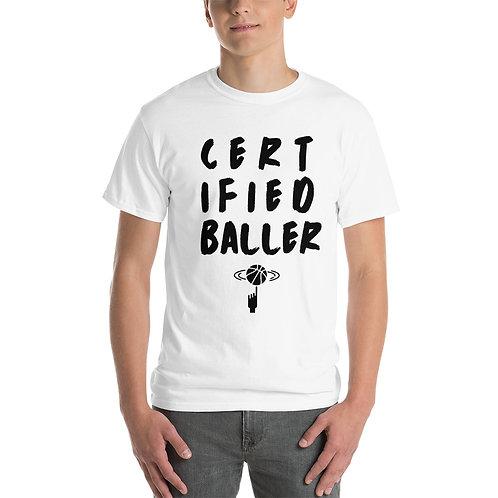 Certified Baller T-Shirt - Grey/White