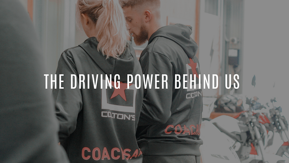 Coltons Motors is the driving power behind us here at Swoosh Training