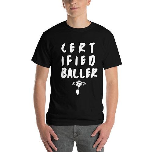 Certified Baller T-Shirt - Black/Grey/Pink/Blue