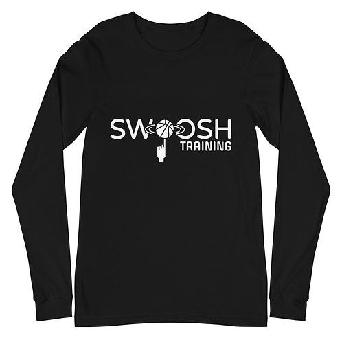 Swoosh Training Long Sleeve Tee - Black