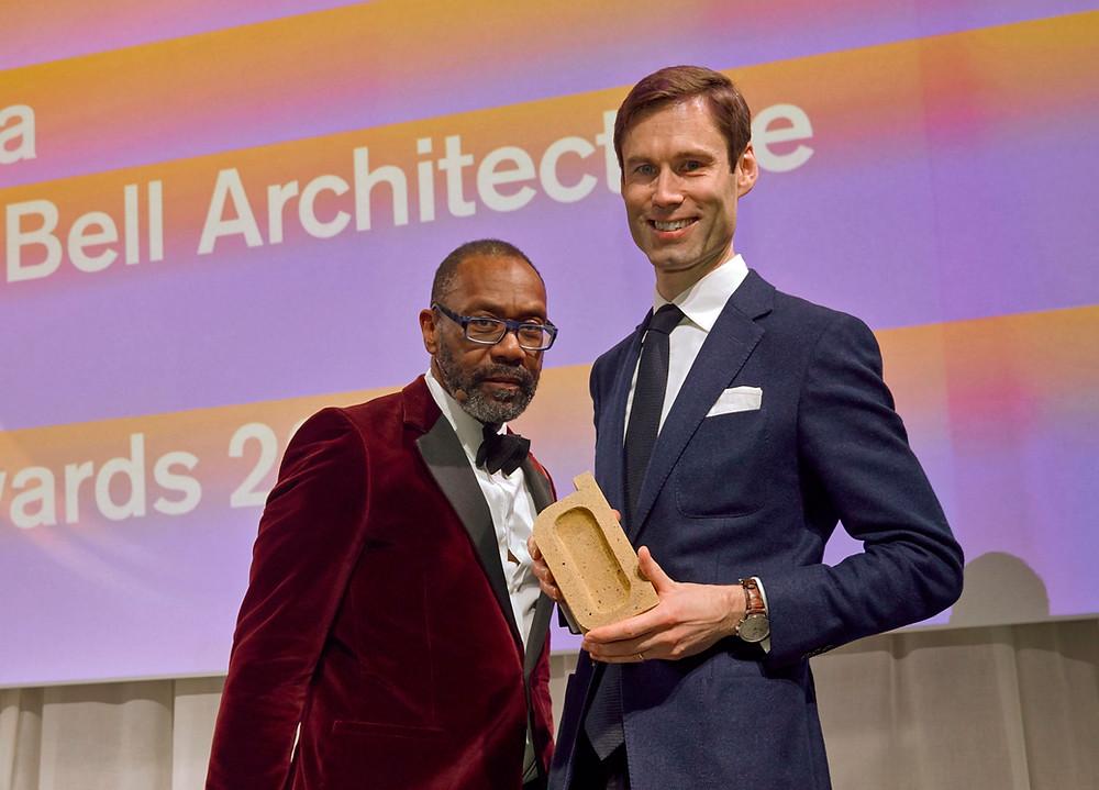 Richard Bell Dezeen Winner