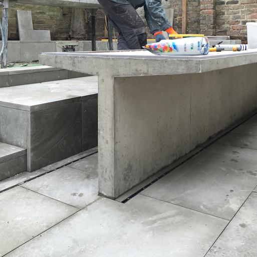Concrete in The Garden